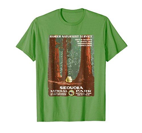 Vintage Poster Shirt-Sequoia National Park T-Shirt