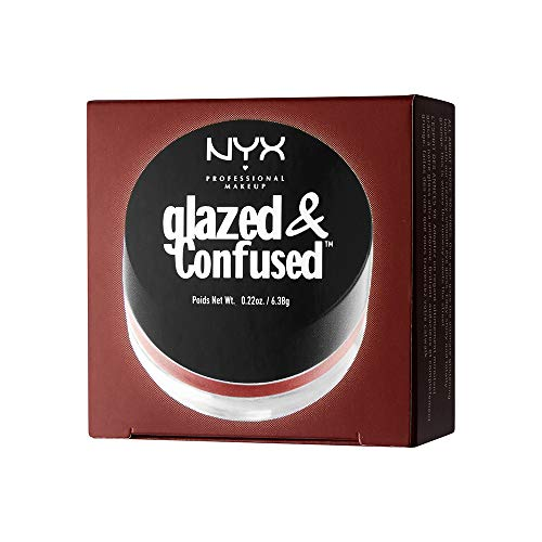 NYX PROFESSIONAL MAKEUP Glazed & Confused Eye Gloss, Bad Blood, 0.22 Ounce