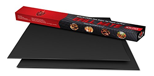 2 Backyard Bulldog Non-Stick Grill Mats – As Seen on TV Grilling Mats for BBQ - FDA Approved