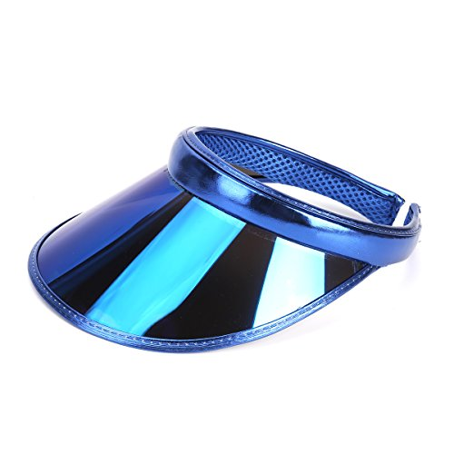 f7e9f5c34a5 UV Sun Visor Hat Outdoor Sport Sun Protection Beach Visor Cap for Women Man  Kids