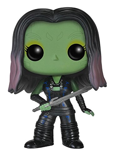FUNKO Pop! Marvel Guardians of the Galaxy - Gamora Collectible figure Marvel Guardians of the Galaxy - action figures & collectibles (Collectible figure, Movie & TV series, Marvel Guardians of the Galaxy, Negro, Verde, Vinilo, Caja) - Figura Marvel Guardianes de la Galaxia Ga