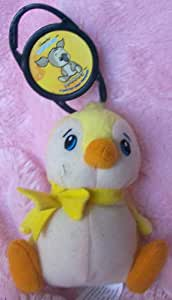 Neopet Plush Mcdonald's Happy Meal Bruce Yellow with Pet Clip Doll Toy