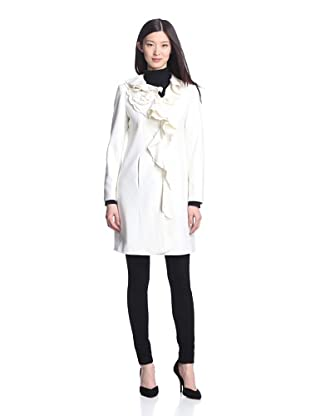 Winter White Outerwear Fashion Design Style