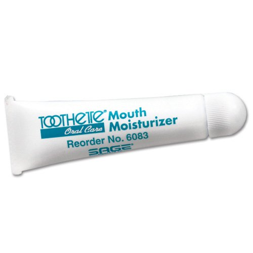 Box of 6 New Toothette Water based Mouth Moisturizer 0.5oz/Tube