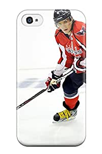 Durable Protector Case Cover With Washington Capitals Hockey Nhl (26) Hot Design For Iphone 4/4s