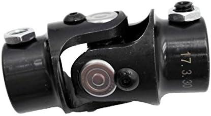 "36/"" Long 3//4/"" DD Universal Shaft Kit Ford Triangle X 3//4/"" DD Black U-Joint"