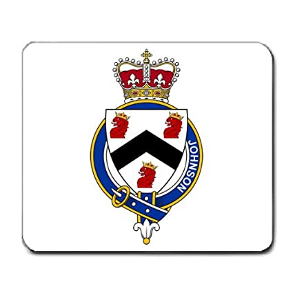 Amazon com : Johnson England Family Crest Coat of Arms Mouse