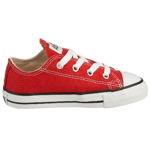 Converse Chuck Taylor All Star, Zapatillas de Lona Infantil Red Ox