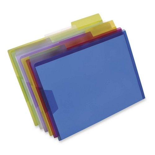 Esselte Pendaflex Plastic Tabs - 5