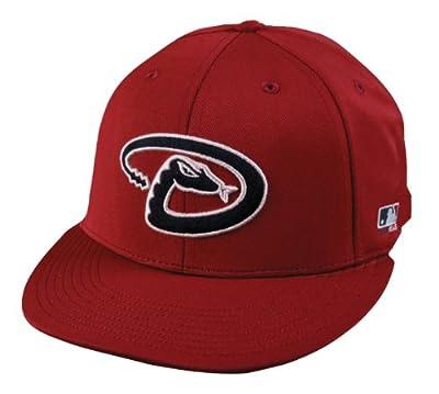 2013 Adult FLAT BRIM Arizona Diamondbacks Home Red Hat Cap MLB Adjustable