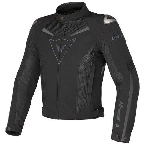 Dainese Super Speed Textile Jacket (44 US / 54 Euro) (Black/Black/Dark-Gull Grey)