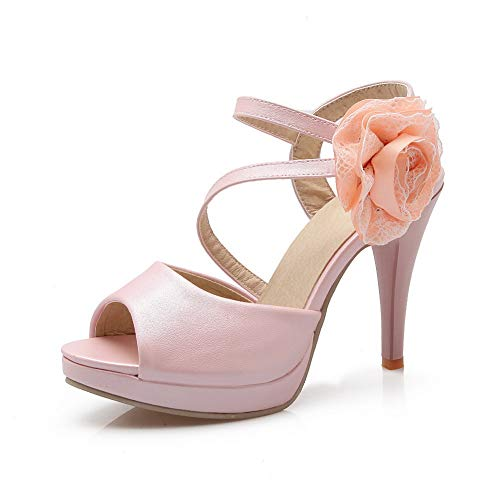 SLC04368 AdeeSu Bout Ouvert Rose Femme XWBHqWZwF