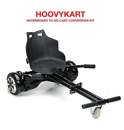 HoovyKart - Go Kart Conversion Kit for Hoverboards - Adjustable - All Heights - All Ages - Self Balancing Scooter - Compatible with All Hoverboards - HoverBoard not (Adjustable Brake Kit)