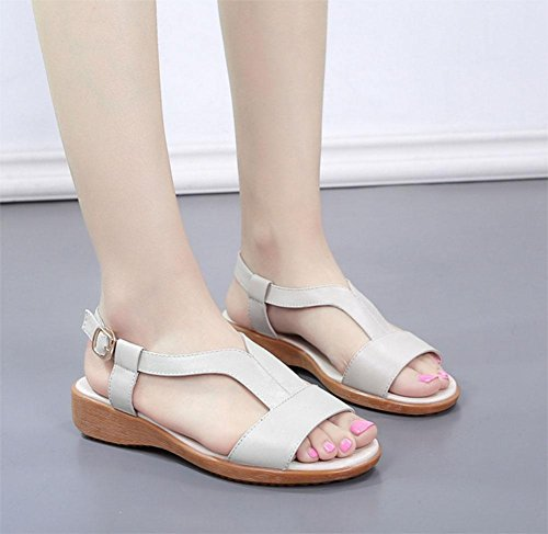 Women' Shoes Women One s Casual way 's Sandals Open toed White 6wf6S7qx