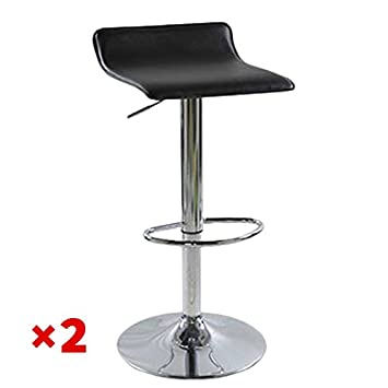 OSPI One Set of Two Chairs Kitchen Breakfast Bar Chair with Faux Leather  Pub Stools Amazon com  OSPI One Set of Two Chairs Kitchen Breakfast Bar Chair  . Kitchen Breakfast Bar Chairs. Home Design Ideas