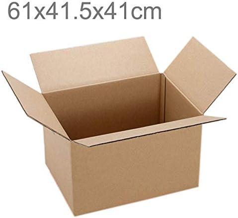 GzPuluz 梱包 包装アクセサリ 配送パッキング移動クラフト紙箱、サイズ:60x40x40cm