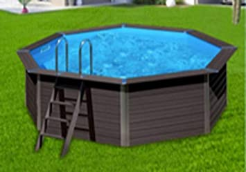 Ultra FLIGHT-POOL Piscine Hors Sol Panneaux Aluminium (370X124): Amazon HI-37