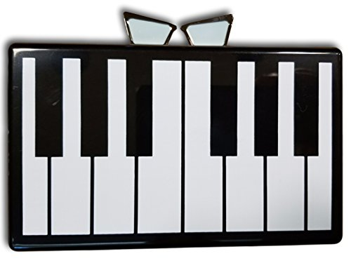 Love Bravery Lady Gaga Elton John Piano Clutch