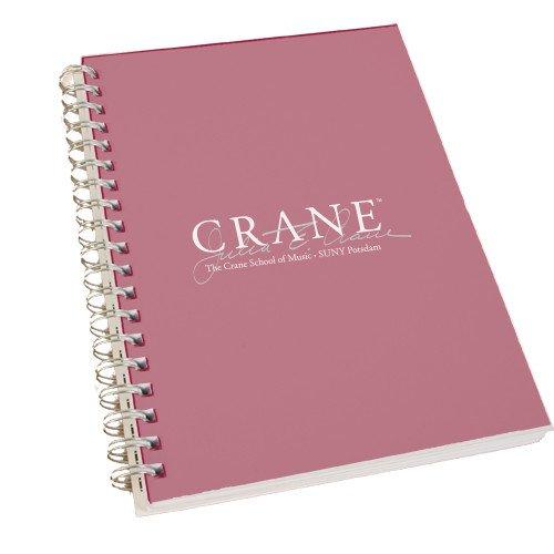 CollegeFanGear Potsdam Clear 7 x 10 Spiral Journal Notebook