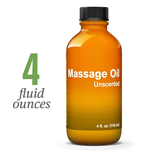 Nature's Sunshine Massage Oil, 4 fl. oz. | Light and Non-Greasy Oil that Nourishes the Skin with Essential Fatty Acids and Acts as a Carrier for Essential Oils
