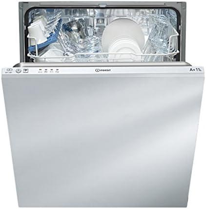 Indesit DIF 14 B1 lave-vaisselle Entièrement intégré 13 places A+ - Lave-vaisselles (Entièrement intégré, Taille maximum (60 cm), White,Not applicable, Acier inoxydable, Boutons, froid)