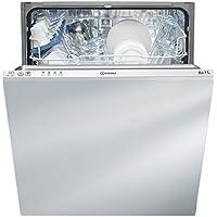 Indesit DIF 14 B1 Entièrement intégré 13places A+ lave-vaisselle - Lave-vaisselles (Entièrement intégré, White,Not applicable, Taille maximum (60 cm), Acier inoxydable, boutons, froid)