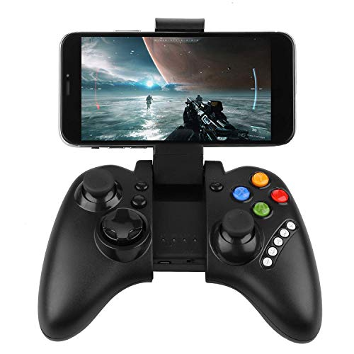 PowerLead PG9021 Mobile Gaming Wireless Bluetooth Controller Gamepad Joystick Supports Android 3.2 Above System/PC Game Controller