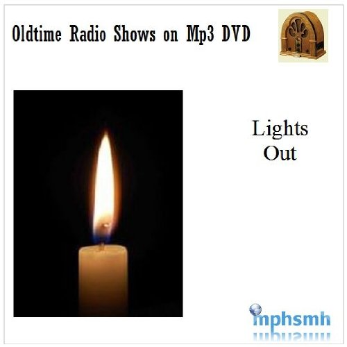 LIGHTS OUT Old Time Radio (OTR) series (1934-1947) Mp3 DVD 55 (Thriller Light Show Halloween)