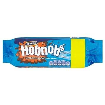 McVitie Hobnobs Milk Choc 300g PMP (Packung mit 12 x 300g)