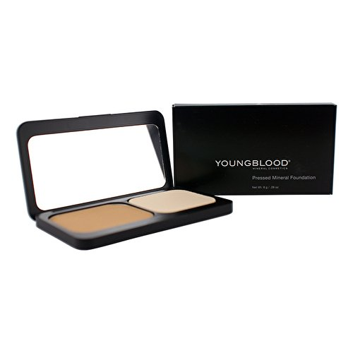 YOUNGBLOOD Pressed Mineral Foundation - 0.28 Oz, Color Honey