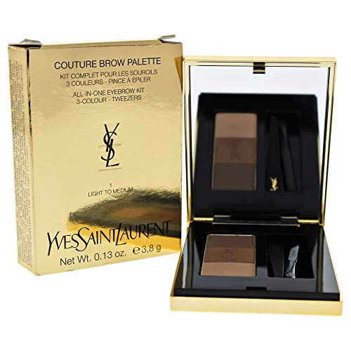 (Yves Saint Laurent Couture Brow Palette, No. 1 Light To Medium, 0.13 Ounce)