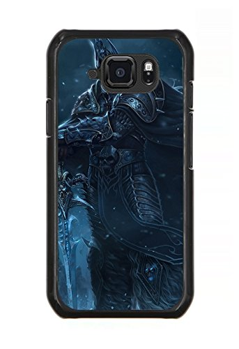 Samsung Galaxy S6 Active-Version Case Game World Of Warcraft: Wrath Of The Lich King Pattern Cover Skin Shell for Samsung Galaxy S6 Active-Version Design By [James Heim]