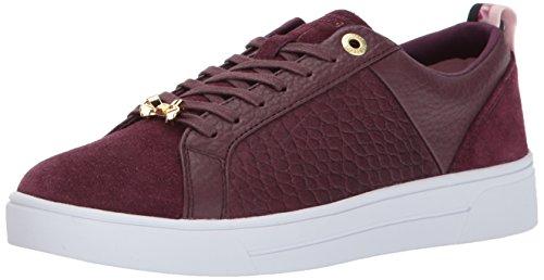 Ted Baker Women's Kulei Sneaker, Purple, 7 M US Purple Designer Shoes