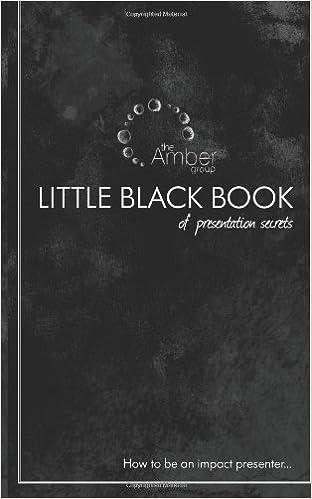 Little Black Book Volume 1