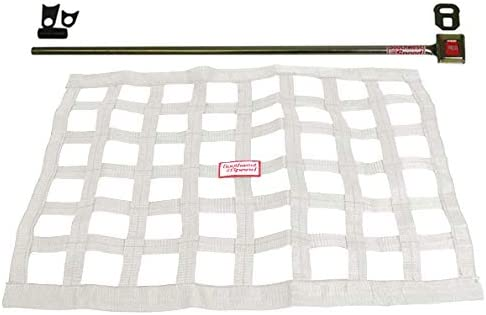 18 X 22 Ribbon Modified Late Model Street Stock Southwest Speed White Racing Window NET