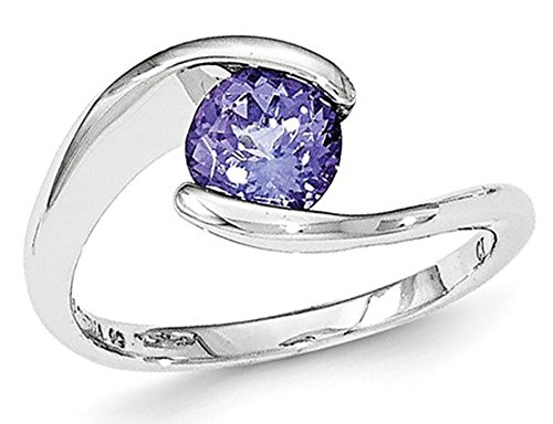 Sterling Silver Solitaire Prom