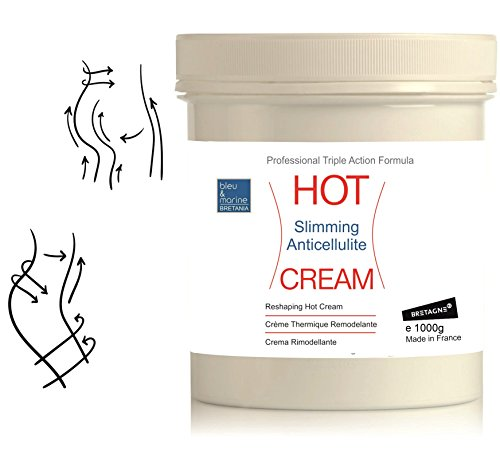 HOT CREAM Professional Triple Action Formula 1000 ml  Slimming Fat...