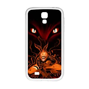 Naruto Fire Wolf White Samsung Galaxy S4 case