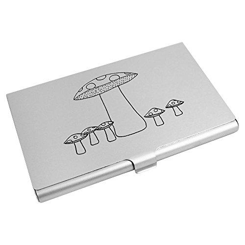 Card Azeeda Holder Wallet Card 'Mushrooms' Credit CH00002487 Business Azeeda 'Mushrooms' Business xRqx7XE