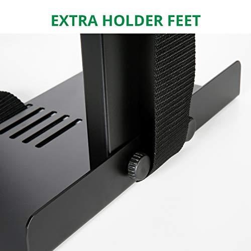 Eureka Ergonomic Computer Cart Height-Adjustable Mobile CPU Stand Suitable for Standing Desk Converters Black by Eureka Ergonomic (Image #4)