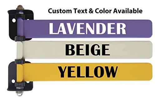"Custom 8"" Exam Room Flags (1-12 Flag Options W Custom Text) (3 Flag System)"