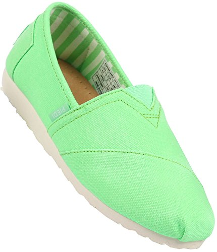 Paperplanes Low 1197 Unisex Casual Ons Easy Top Slip Green 1196 Fashion Shoes rWIZAcFrq