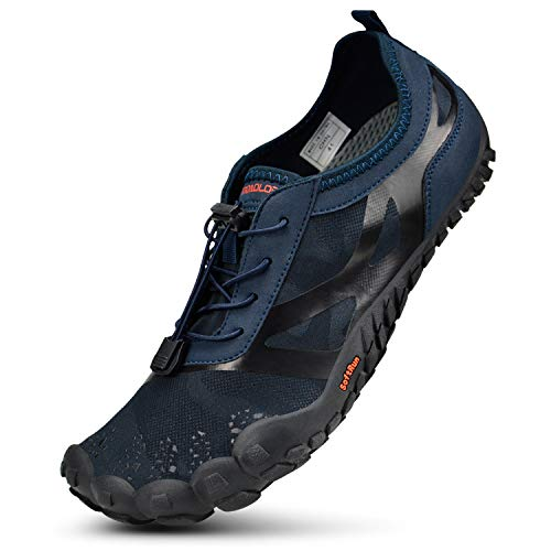 Troadlop Men's Barefoot Shoes Outdoor Training Running Hiking Sneakers - Size 9 M US