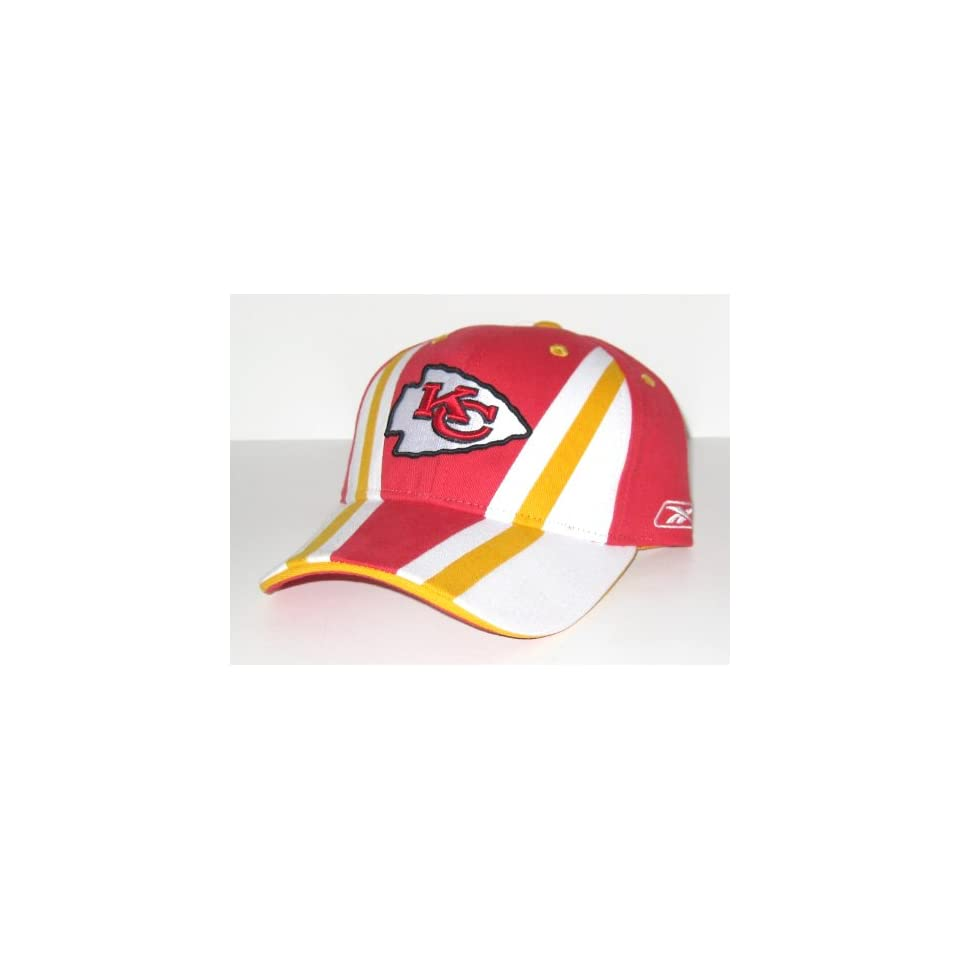 Kansas City Chiefs NFL Reebok Team Apparel Colorblock Adjustable Hat