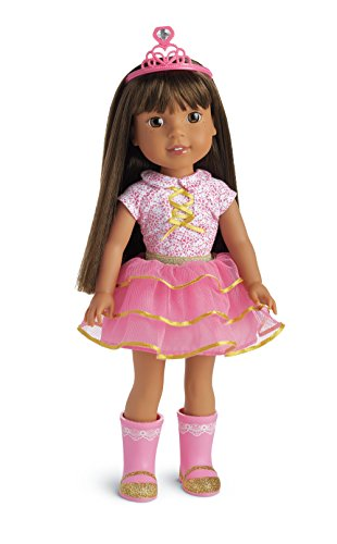 "American Girl Wellie Wishers Ashlyn 14.5"" Doll WELLIE WISHER"