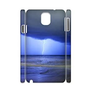 3D Dustin Lightning Samsung Galaxy Note 3 Cases Lightning 3, Lightning [White]