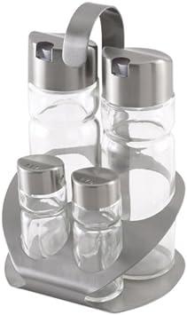 unit/à di aceto in acciaio inossidabile e vetro 2 Monix Sabor