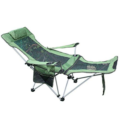 HM&DX Chaises Pliantes Exterieures Portable Compact Chaise Longue ...