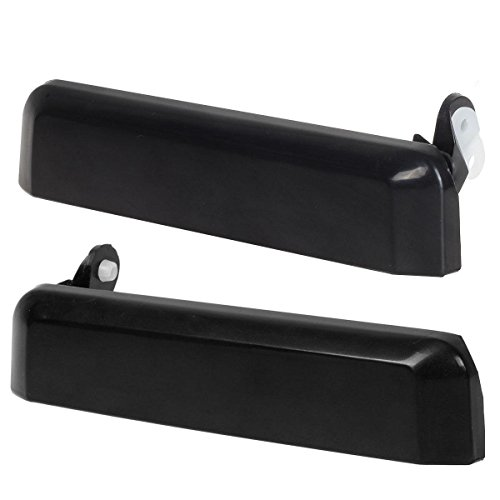 AUTEX Front Driver and Passenger Outside Outer Door Handles Replacement for Nissan Pickup Truck SUV 1987 1988 1989 1990 1991 1992 1993 1994 1995
