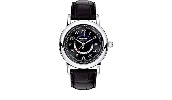 Amazon.com: Montblanc Star World Time GMT Mens Watch 106464: MontBlanc: Watches